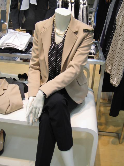 働くママ応援!!ジャージ素材のジャケット「動きやすさ重視♪」のサムネイル画像