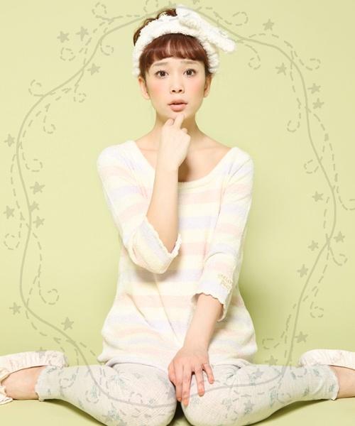 女の子の可愛い部屋着パジャマで気分もリフレッシュ♪のサムネイル画像