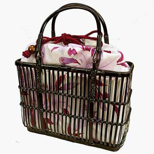 浴衣用のかごバッグってある?浴衣にはどんなかごバッグが合う?のサムネイル画像