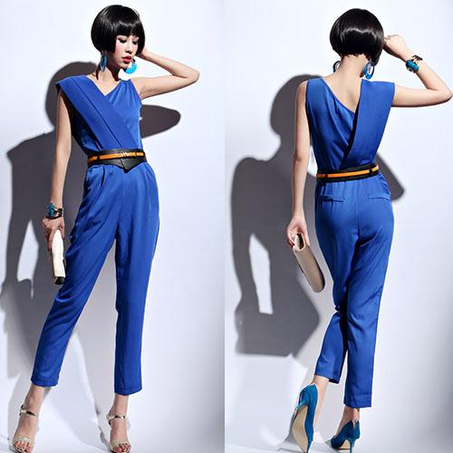 パンツドレススタイルでワンランク上の女性へ❤パンツドレス特集!!のサムネイル画像