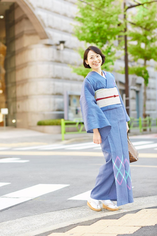 【春から秋の単衣を紹介】洗える着物で気軽に季節を楽しもう♪♪のサムネイル画像