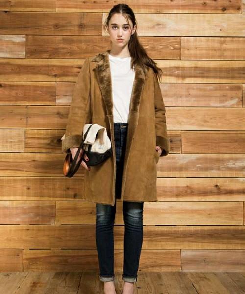 ムートンコートを着てラグジュアリーで大人可愛い女性になろう☆のサムネイル画像