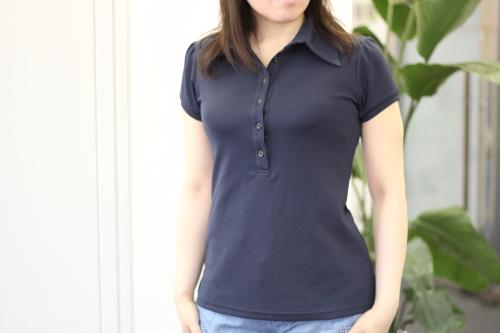 コーディネート次第で可愛く爽やかになるレディースのポロシャツ!のサムネイル画像