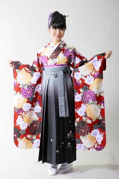 大正ロマン?ハイカラさん?振袖と袴のコーディネートが知りたい!のサムネイル画像