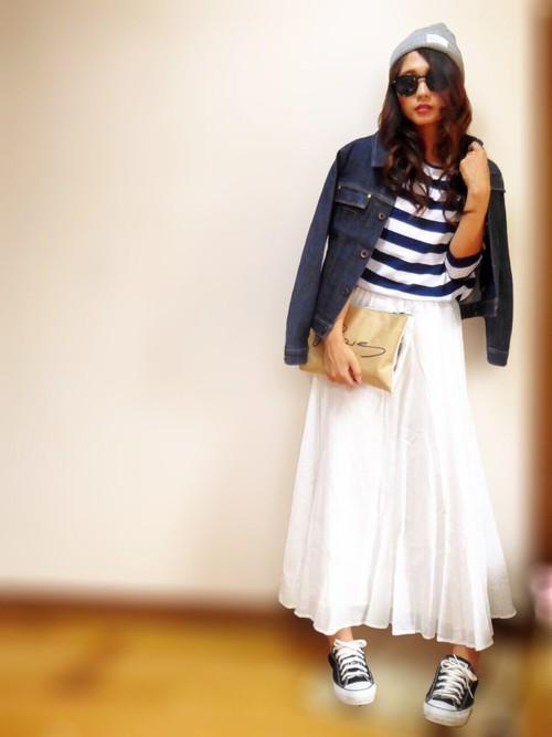 素敵かわいいマキシ丈スカート!そんなマキシ丈スカートのコーデ術!のサムネイル画像