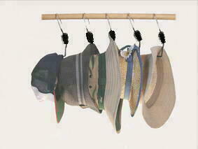 おしゃれなハンガーで帽子の型崩れとしわを防ぎましょう♪♪のサムネイル画像
