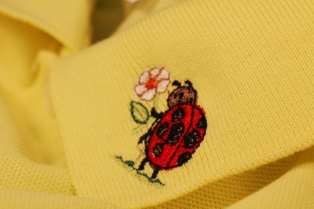 世界に一つが魅力☆ポロシャツにオリジナル刺繍を入れよう!のサムネイル画像
