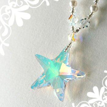 星モチーフのネックレスに願いを込めて・・・あなただけの特別に☆彡のサムネイル画像