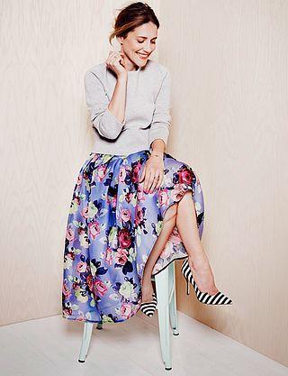 花柄のスカートが大活躍!デートにもオフィスにも使える万能アイテムのサムネイル画像