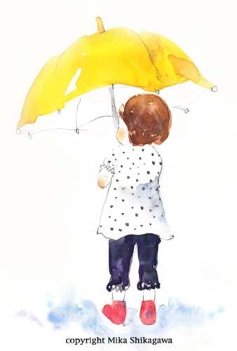 【女の子】今日は雨がふるかな~?ついつい思っちゃう長靴たちのサムネイル画像