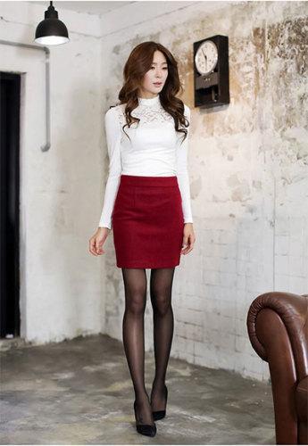 何にもでも合うタイトスカートこそ、脱★無難な着こなしを!のサムネイル画像
