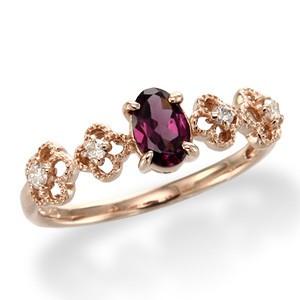 ガーネットの指輪はクラシカルで希少な色や色変化するキレイな宝石◇のサムネイル画像