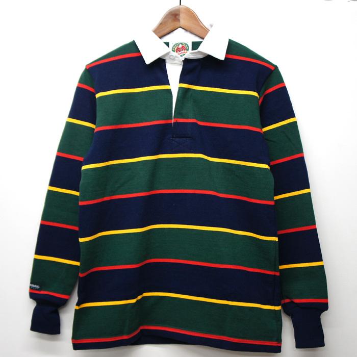 ラグビーブームは洋服にも!バーバリアンのラガーシャツが可愛い!のサムネイル画像