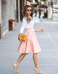 フレアスカートが可愛く使える♡コーディネートが大人可愛くなる♡のサムネイル画像