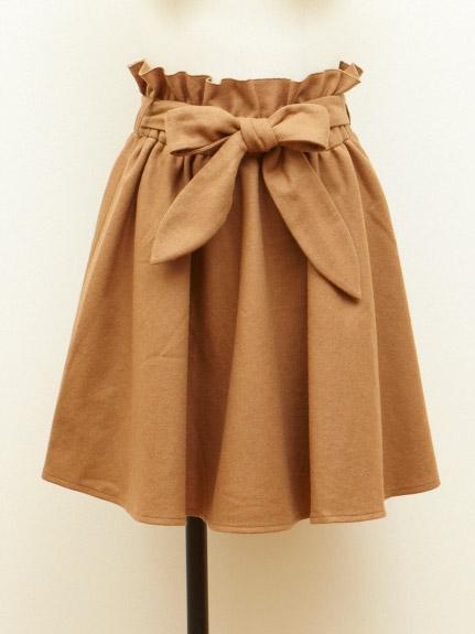 リボンスカートが可愛い♡リボンスカートを大人っぽく着こなそう!のサムネイル画像