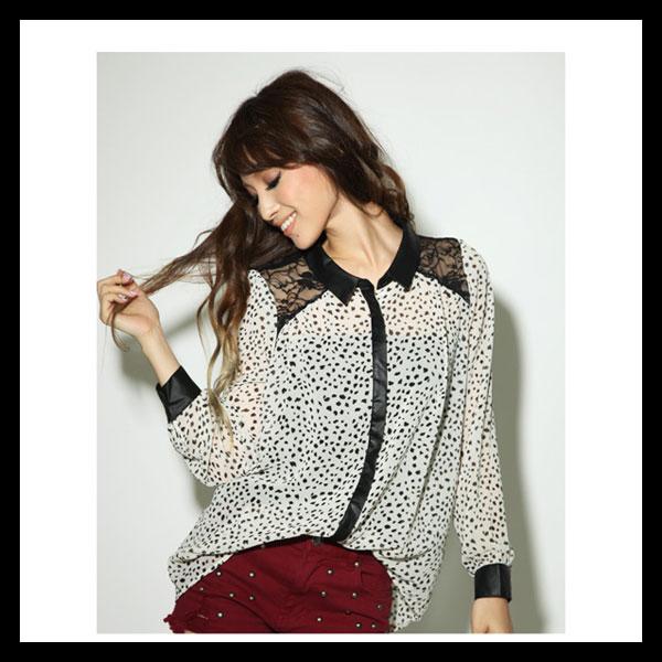 """個性的ファッションに必須アイテム""""ヒョウ柄""""×シャツコーデ♡のサムネイル画像"""