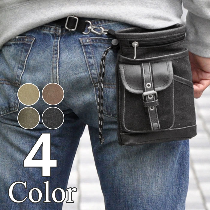 革のウエストバッグをどうやって着こなすか?コーデをいろいろ見るのサムネイル画像