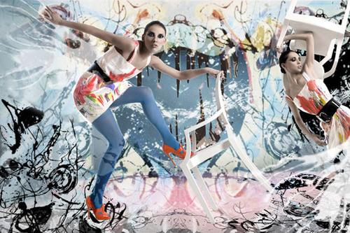 【写真集】センスが光るファッションコラージュ写真が面白い★のサムネイル画像