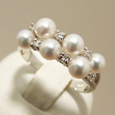 女性達が憧れる♥可愛くて綺麗な真珠の指輪をご紹介します!のサムネイル画像