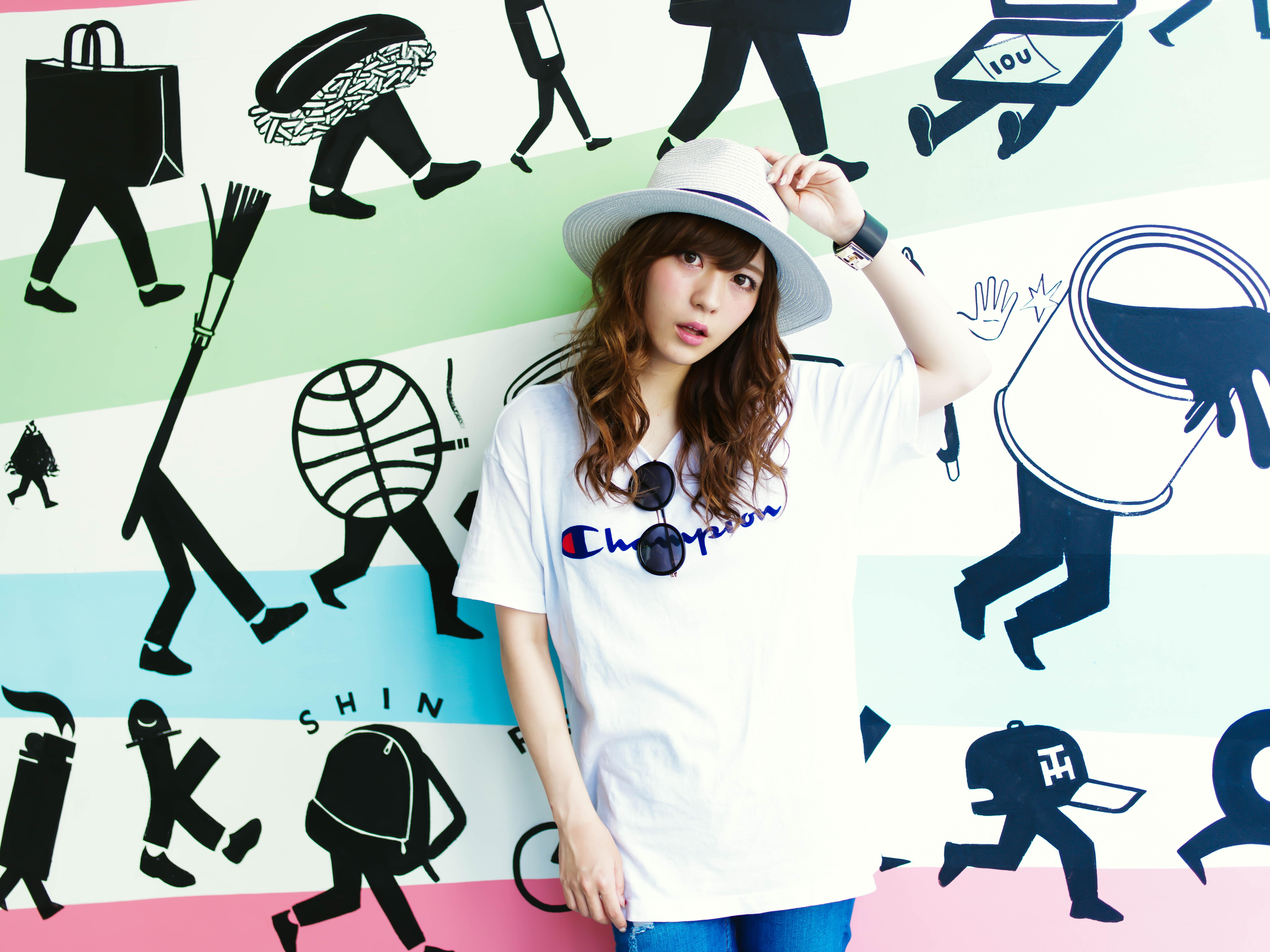 プチプラで可愛い!WEGOのTシャツで春先取り、Tシャツコーデ集のサムネイル画像