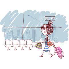 女性らしくてかわいい!旅行に持って行きたいピンク色のスーツケースのサムネイル画像