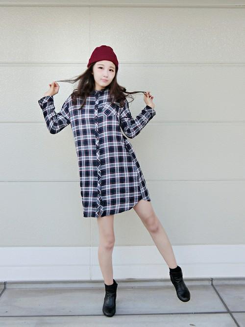 ニット帽子がオシャレで素敵♡コーデが一段と可愛くなる!!のサムネイル画像