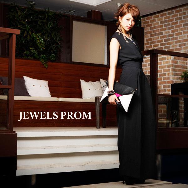 結婚式には大人カッコいいオールインワンドレスがおすすめ!のサムネイル画像