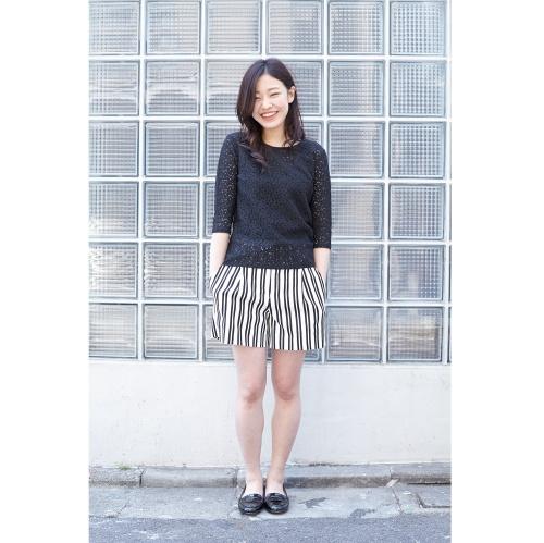 ストライプ柄ショートパンツが可愛い♡人気の商品をご紹介!のサムネイル画像