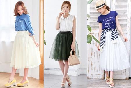 実は今しまむらで売れてるスカートはチュールスカートでしたのサムネイル画像
