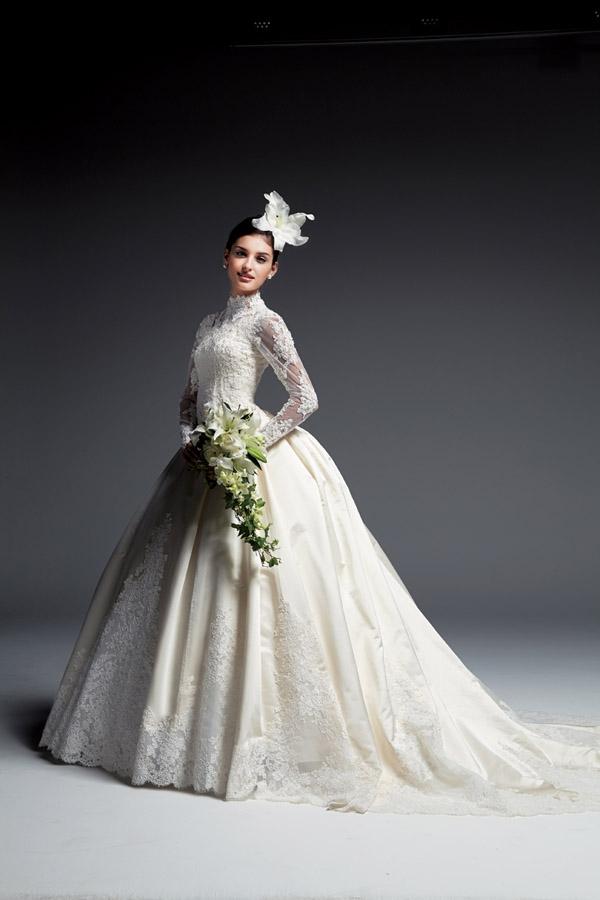 女性の憧れ!いつかは着たい!人気のウェディングドレス画像集♥のサムネイル画像