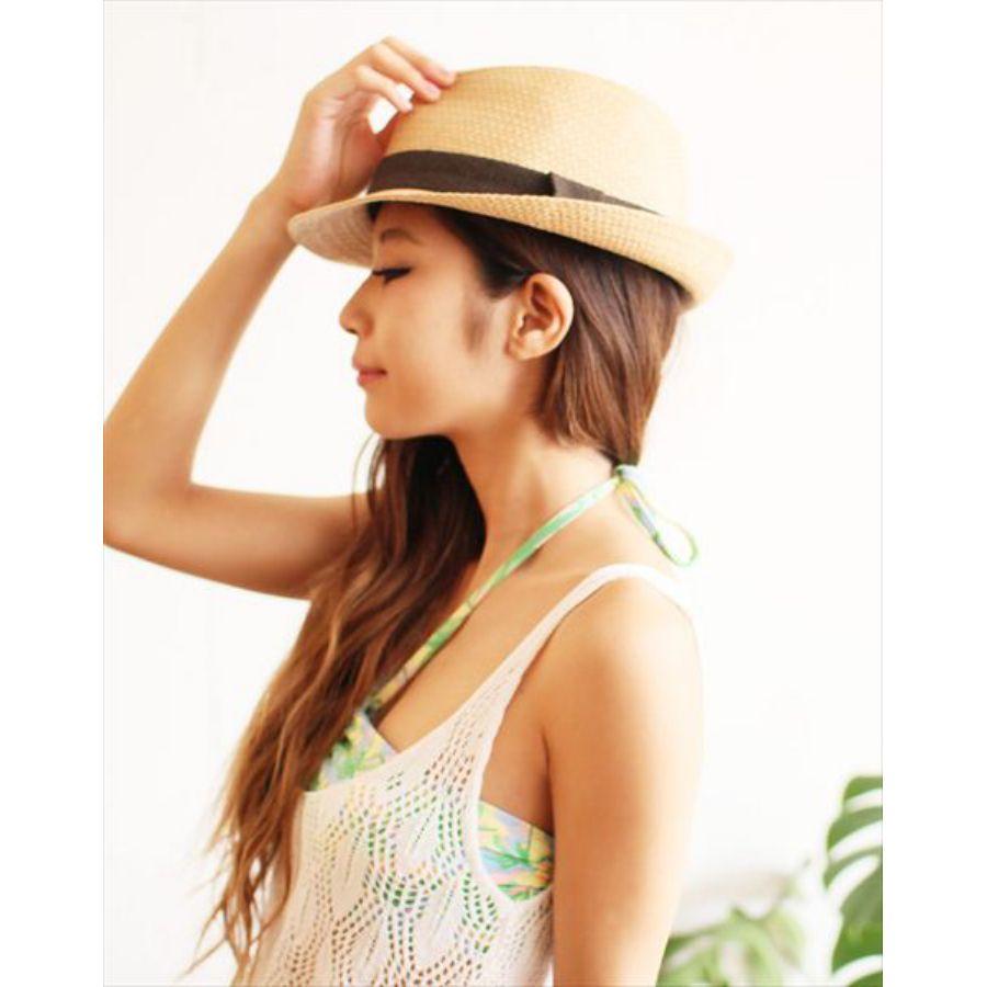 夏と言えば麦わら帽子!おしゃれな麦わら帽子をかぶってみよう☆のサムネイル画像