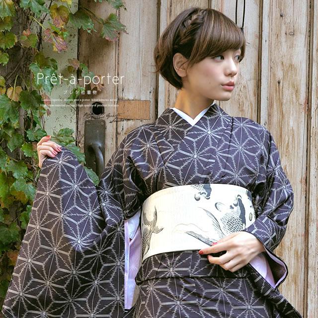 普段着でも着物で過ごしたい♡おしゃれな普段着着物の着こなし☆のサムネイル画像