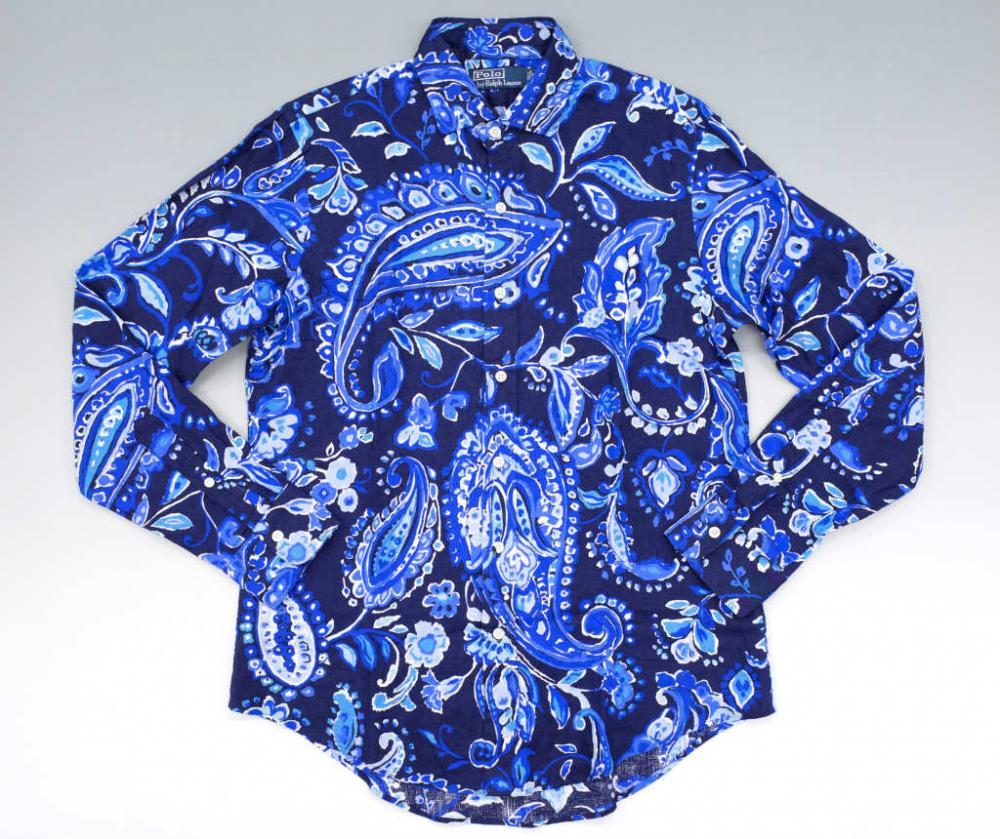 おしゃれなペイズリー柄シャツを着よう☆人気商品&コーデを紹介!のサムネイル画像