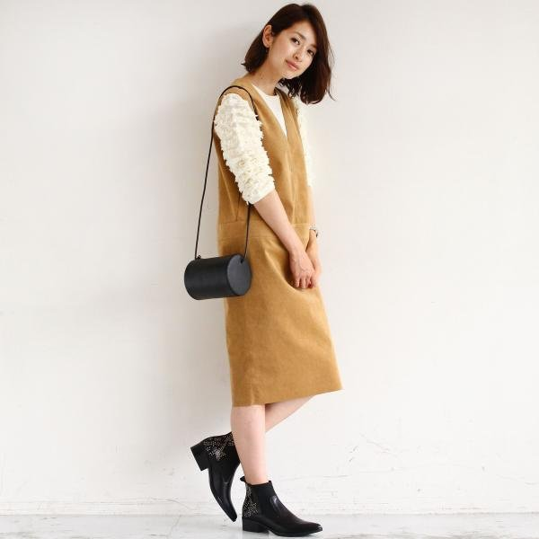 春はジャンパースカートが可愛い!大人レディースの可憐コーデ!のサムネイル画像