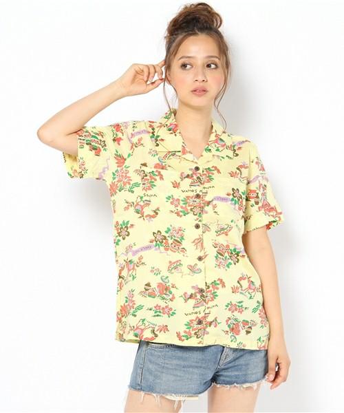 レディース 今年の夏はアロハシャツを着ておしゃれを楽しもう!のサムネイル画像