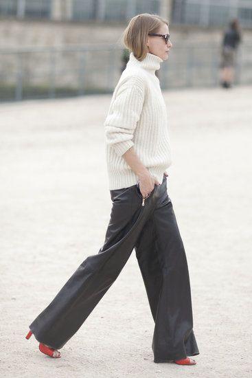 【ワイドパンツの着こなし】流行のワイドパンツのコーデを特集♪のサムネイル画像