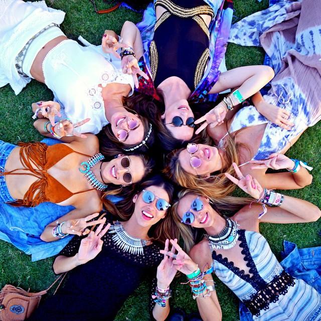 今年の夏フェス♪お手本は海外のオシャレすぎるフェスファッション♡のサムネイル画像