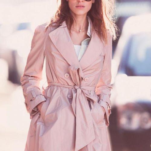 新感覚トロンチとプリーツスカーチョで作る、大人かわいい春スタイルのサムネイル画像
