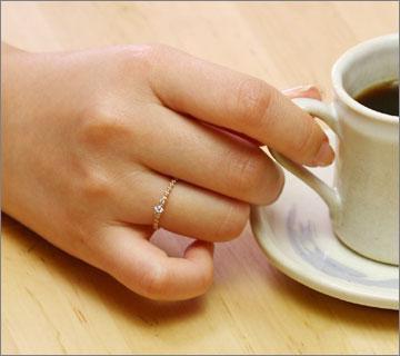 華奢なリングがとっても人気♡可愛いリングで目指せ指先美人♡のサムネイル画像