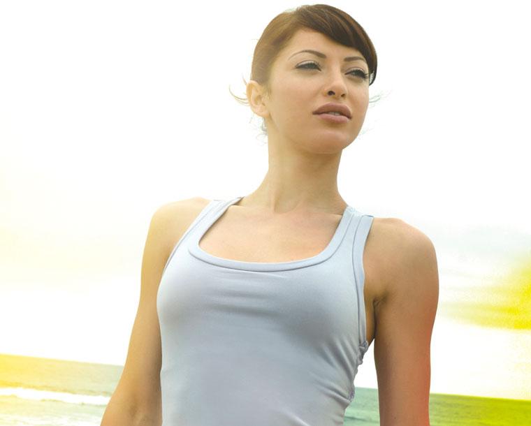 タンクトップを着たコーディネートのおしゃれな画像をご紹介します☆のサムネイル画像