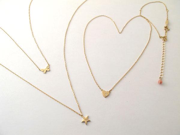 ネックレスはゴールドがかわいい♡人気のネックレスはどこの!?のサムネイル画像