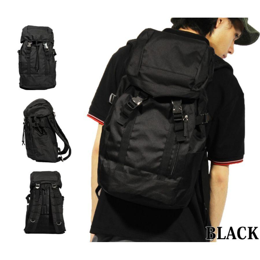 黒のバックパックが使いやすい!メンズにもレディースにも大人気!のサムネイル画像