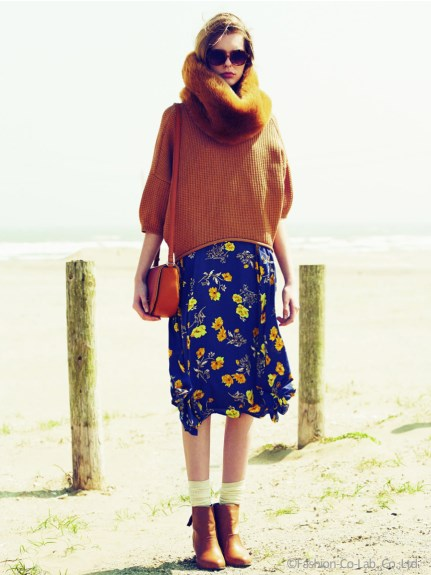 1着は持っておきたい可愛い万能アイテム♡「花柄スカート」特集♡のサムネイル画像
