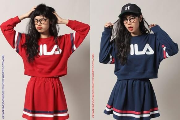★今、ストリート系ファッションで「FILA」フィラが、大人気!!のサムネイル画像