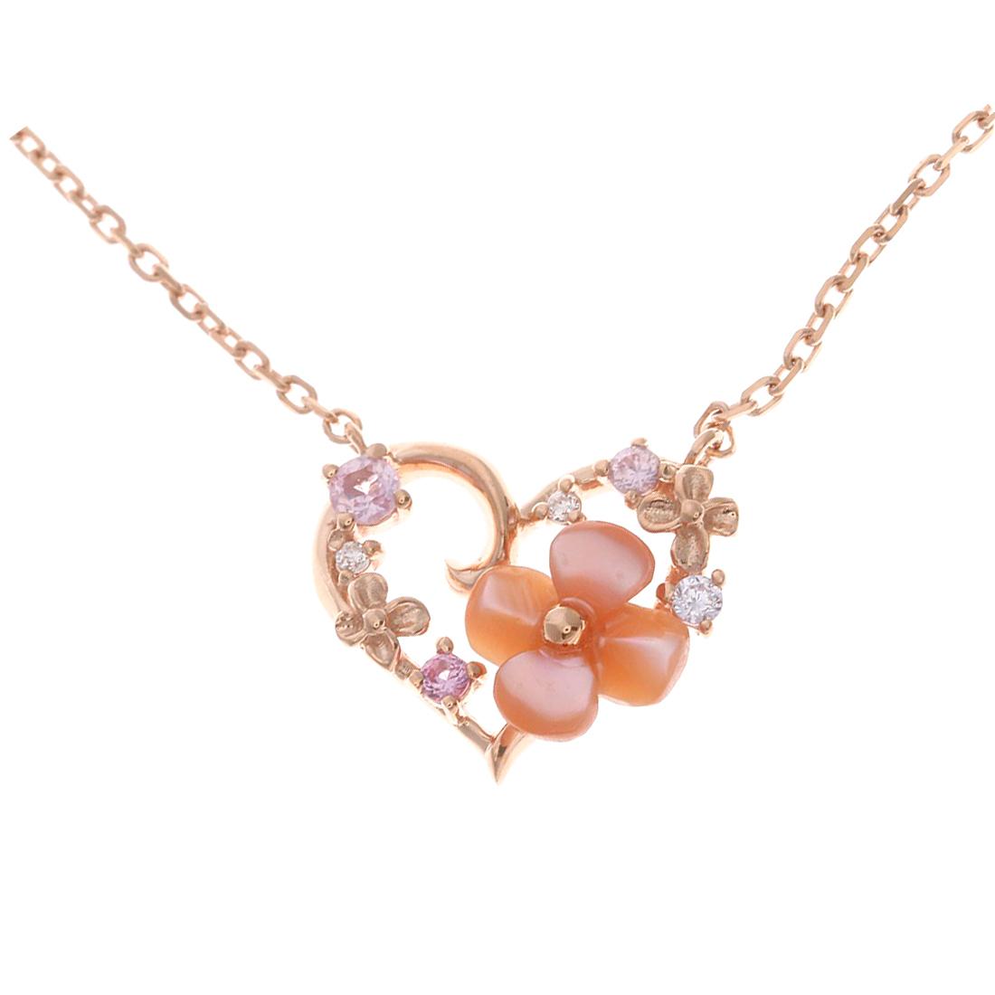お花をモチーフ♥華やかで可愛いらしいネックレスをご紹介しますのサムネイル画像