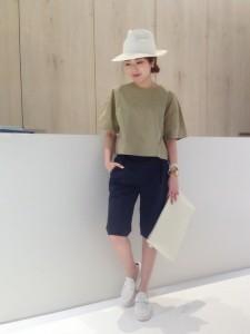 【参考にしたい】大人カジュアルなファッションが可愛いです!のサムネイル画像