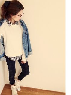 今が旬♡春コーデはデニムジャケットでおしゃれに賢く着こなそう♪のサムネイル画像