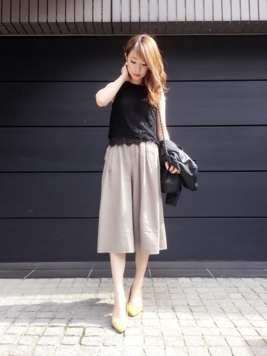 女性らしい服装が魅力的!コーディネートを参考にしたい!!のサムネイル画像