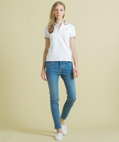 爽やかなコーデを目指そう☆おすすめ白のポロシャツコーデを紹介!のサムネイル画像