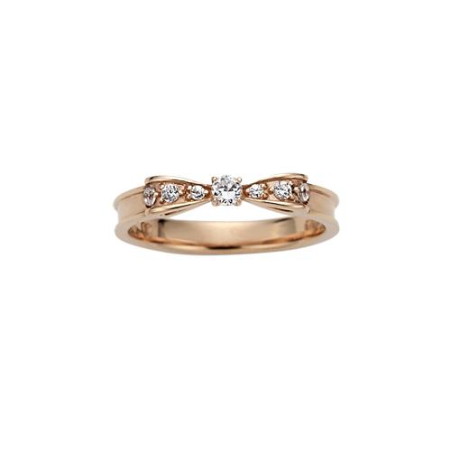 可愛いリボンモチーフの指輪☆華やかで素敵な指輪を紹介しますのサムネイル画像